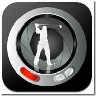ゴルフスイングを自分で解析して自分で上達するためのiPhoneアプリ「iSwing」700円。